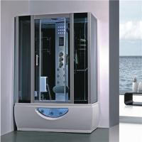 Large Rectangular Shower Enclosure Hydromassage Steam Bath Shower Combination