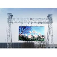 P4.81mm Hd 1920hz Super Slim LED Display Outdoor Advertising Panel 8cm Thickness Manufactures