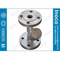 Buy cheap BOCIN SS Screen Flange Y Strainer Filter Gas Steam Purification High Strength from wholesalers