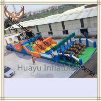 inflatable obstacle course giant inflatable amusment park Obstacle Course Inflatable / Sport Obstacles Manufactures