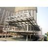 Multi-storey steel structure platform mezzanine floor building Manufactures