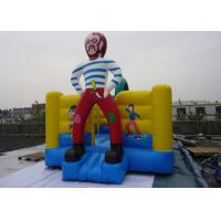 Customize PVC Tarpaulin Inflatable Jumping Castle / Inflatable Bounce Castle For Children  Manufactures