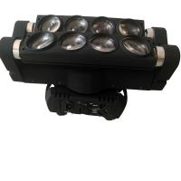 Professional 8* 10W Mini LED Spider Light / Led Moving Head Lights For Small Concerts Manufactures