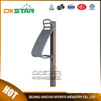 fitness equipment for elderly wood outdoor fitness equipment park back stretcher for the old people Manufactures