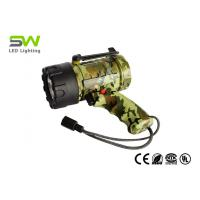 3W Waterproof Rechargeable Spotlight With 300 Lumen LED Wall And Car Charger Attachments Manufactures