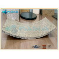 Curved Honeycomb Granite Stone Panels , Ultra thin Granite Panels of Special Shape Manufactures