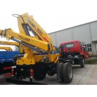 China XCMG 2035kg Crane, Durable 5 Ton Hydraulic Lifting Truck Mounted Crane on sale
