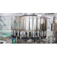 Small Beverage Washing Filling Capping Machine For Bottle Water Line/Water filling Manufactures