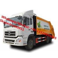high quality and lower price Customized dongfeng 18cbm garbage compactor truck, refuse garbage vehicle for Botswana, Manufactures