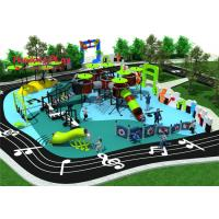 Concert Series Outdoor Playground Equipment Pre - Embedded Fixing Method for sale