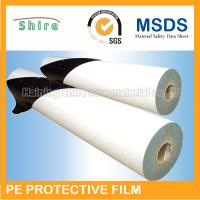 White Scratch Protection Film For Doors , Recycable Protective Adhesive Film Tape Manufactures