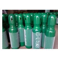 Green / Blue 34CrMo4 High Purity Compressed Gas Cylinder 200BAR 5.2mm Thickness Manufactures