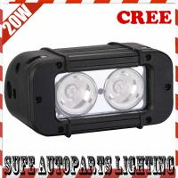 IP68 USA CREE LED 5'' 2pcs*10W 20W LED Offroad Light bar LED Work Light Bar for Truck Manufactures