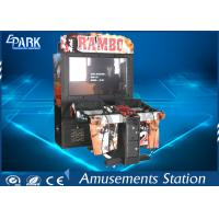 Modern High-tech Shooting Arcade Machines With Bright LED Lights For Game Center Manufactures