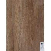 Custom Wood Grain PVC Flooring Roll For Vacuum Pressing Kitchen Cabinet Door Covered Laminated Manufactures