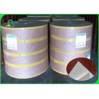 Weight 30 - 300gsm Smooth Surface Food Grade White Kraft Liner Paper For Food Packing Manufactures
