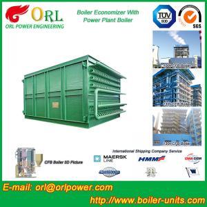 Heat Economizer / Boiler Economiser In Steam Power Plant Non Pollution Manufactures