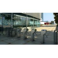 outdoor safty security people flow access cotnrol turnstile barrier gates with RFID reader Manufactures