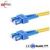 Duplex Fiber Optic Patch Cord Leads SC UPC To SC UPC Single Mode Fiber Optic Patch Cable Manufactures