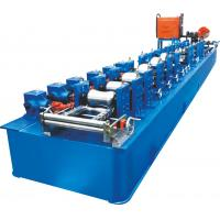 Trapped Round Steel Pipe Making Machine With Thicnkness 0.8~1.5mm Manufactures