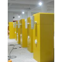 Traffic yellow boom barrier gate for parking access control Manufactures