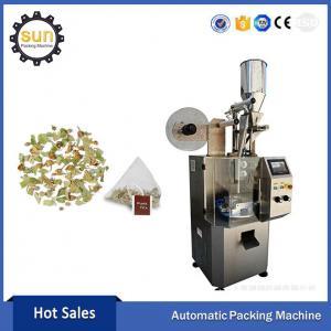 Pyramid tea bag packing machine/ nonwoven frabic pyramid tea bag packing machine Manufactures