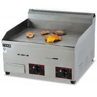 Energy-saving Silver Commercial Electric Countertop Gas Griddle GH-718 For Kitchen Manufactures