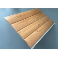 Fireproof Pvc Wall Panels Lightweight With Four Circular Arc 8.5 Mm Thickness Manufactures