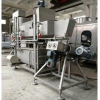 Triple Layers Mozzarella Cheese Making Equipment With Temperature Control System Manufactures