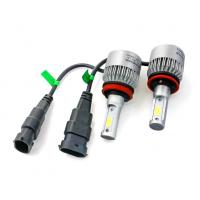 6500K 36w 3800lm Auto Car S2 H7 LED headlight Single Beam Sliver Color Manufactures