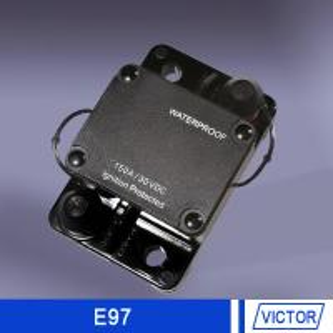 25A - 150A Waterproof car audio circuit breaker 24v Self-Testing & Manual Override Manufactures