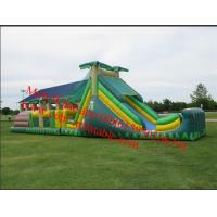 Long inflatable obstacle course park Manufactures