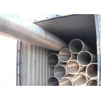 Seamless Alloy Steel Tube P91 NDE Plain End Nuclear Power Plant Application Manufactures