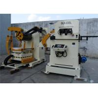 Quality 0.05mm Accuracy PLC Control Decoiler Straightener Feeder For Computer Box Punching for sale