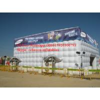 inflatable air sealed tent,large inflatable cube tent outdoor inflatable party tent CMIT31 Manufactures