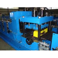 China Forming Speed 12-15m/min Width Adjustable CZ Purlin Roll Forming Machine  Fully Automatic 17 Roller Station on sale