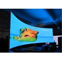 China High Refresh Rate Full Color SMD 3 in 1 P5 Curved LED Display With CE & ROHS on sale