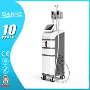 Portable multi-funtional 2 work mode big treatment head ultrasonic liposuction cryolipolys Manufactures