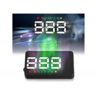 Audi A5 Wireless Hud Display , Multi Color LED Universal Gps Hud Head Up Display Manufactures