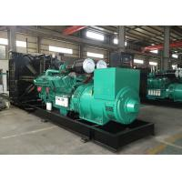 Buy cheap 1200KW Cummins Diesel Generator 50Hz 1500RPM Water Cooled Generator from wholesalers
