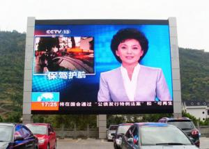 Outdoor Single Double Pole SMD2525 P4 Street Led Display Manufactures