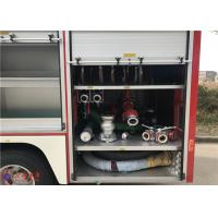 88kw 2900hp Water Tanker Fire Truck With Hydraulic Control Clutch Manufactures