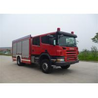 Chemical Accidents Rescue And Salvage Fire Truck Fire Equipment Truck , Max Speed 100KM/H Manufactures