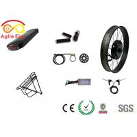China Powerful Hub Wheel Fat Tire Electric Bike Conversion Kit With Pedal Assist Sensor on sale