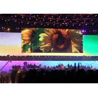With 120 / 120 Degree View Angle P3.91Indoor Rental LED Display Fanless Design Manufactures