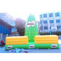 Variety Portable Inflatable Climbing Wall Outdoor / Sport Usage Manufactures