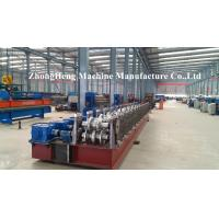 Automatic Highway Guardrail Roll Forming Machine For 475 mm Coil PLC control Manufactures