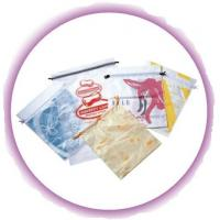 Personalized CPE / LDPE Drawstring Plastic Bags For Girls Underwear / Bra / Bikini / Vest Manufactures