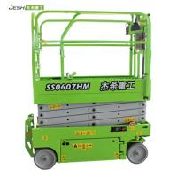 High impact aerial working platform 6m 230kg capacity mini hydraulic scissor lift for warehouse Manufactures