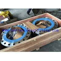 UNS S31254 Forged Steel Flanges Stainless Steel Pipe Flanges 6MO ASTM A182 F44 300lB Manufactures